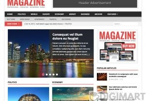 Magazine theme wordpress