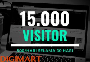 Traffic Dingin Berkualitas Ke Website Anda Hingga 90.000 Visitor/Bulan