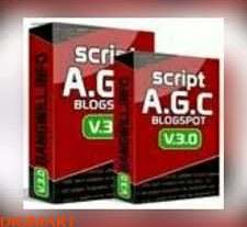 Script AGC Blogspot + Bonus Template dan Panduan