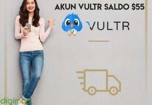 Akun VULTR saldo $55