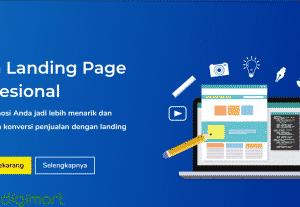 Jasa Pembuatan Landing Page Profesional