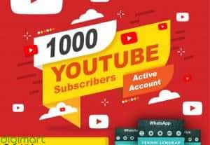 1000 Youtube Subscribers