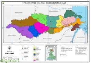 Pembuatan Peta Desa/Kelurahan, Kecamatan, dan Kabupaten/Kota dan peta lainnya