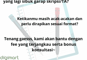 PROOFREADING SKRIPSI, TA, JURNAL ILMIAH