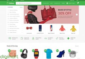 Jual Thema Toko Online Untuk WordPress – TOKOO Premium