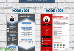 Jasa Desain CV/Resume Terbaik