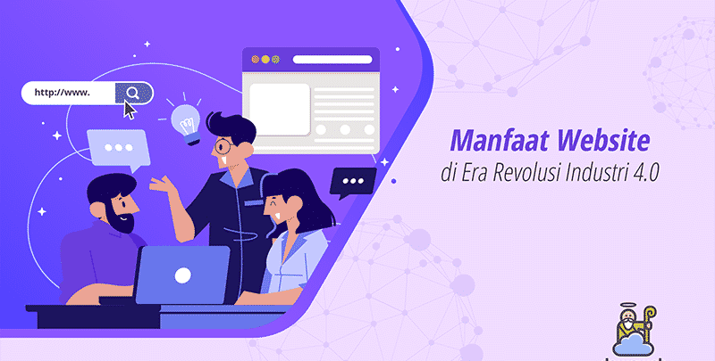 Manfaat Website di Era Revolusi Industri 4.0