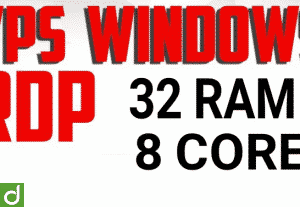 [PROMO] VPS RDP AWS 32GB 8 CORE Windows-Linux