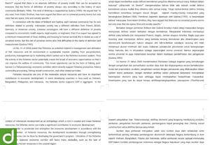 Jasa terjemahan Indonesia-English-Tagalog (gratis revisi sampai beres)