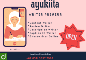 Content Writer Berbagai Niche