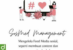 Sosial Media Management (Instagram feed idea planner)