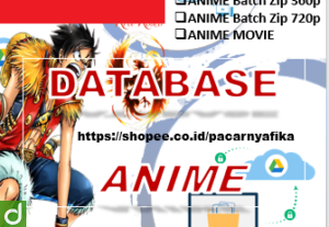 DRIVE DATABASE ANIME MP4 HARDSUB INDO