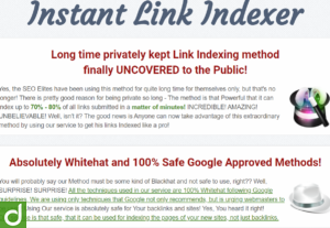 Jasa submit 200 Link ke Indexer / Indexing Premium (InstantLinkIndexer)