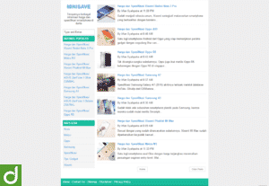 MiniSave – Template Blogger Minimalis