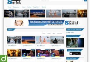 BangkuKosong Video WordPress Theme – Woocommerce Support