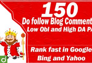 26034150 Backlink Blog Comment High DA PA Dofollow (Manual)