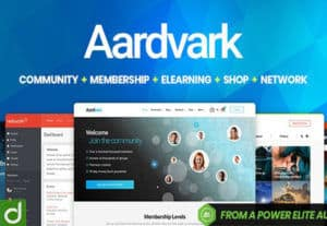 25426Aardvark – Membership Theme