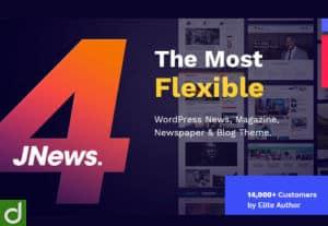 25564JNews – WordPress Newspaper Magazine Blog AMP Theme