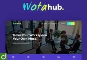 WotaHub – Coworking Space WP