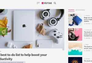 46028Kutak – Minimalis Blog WordPress Theme